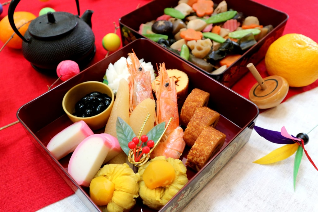 japan new year osechi